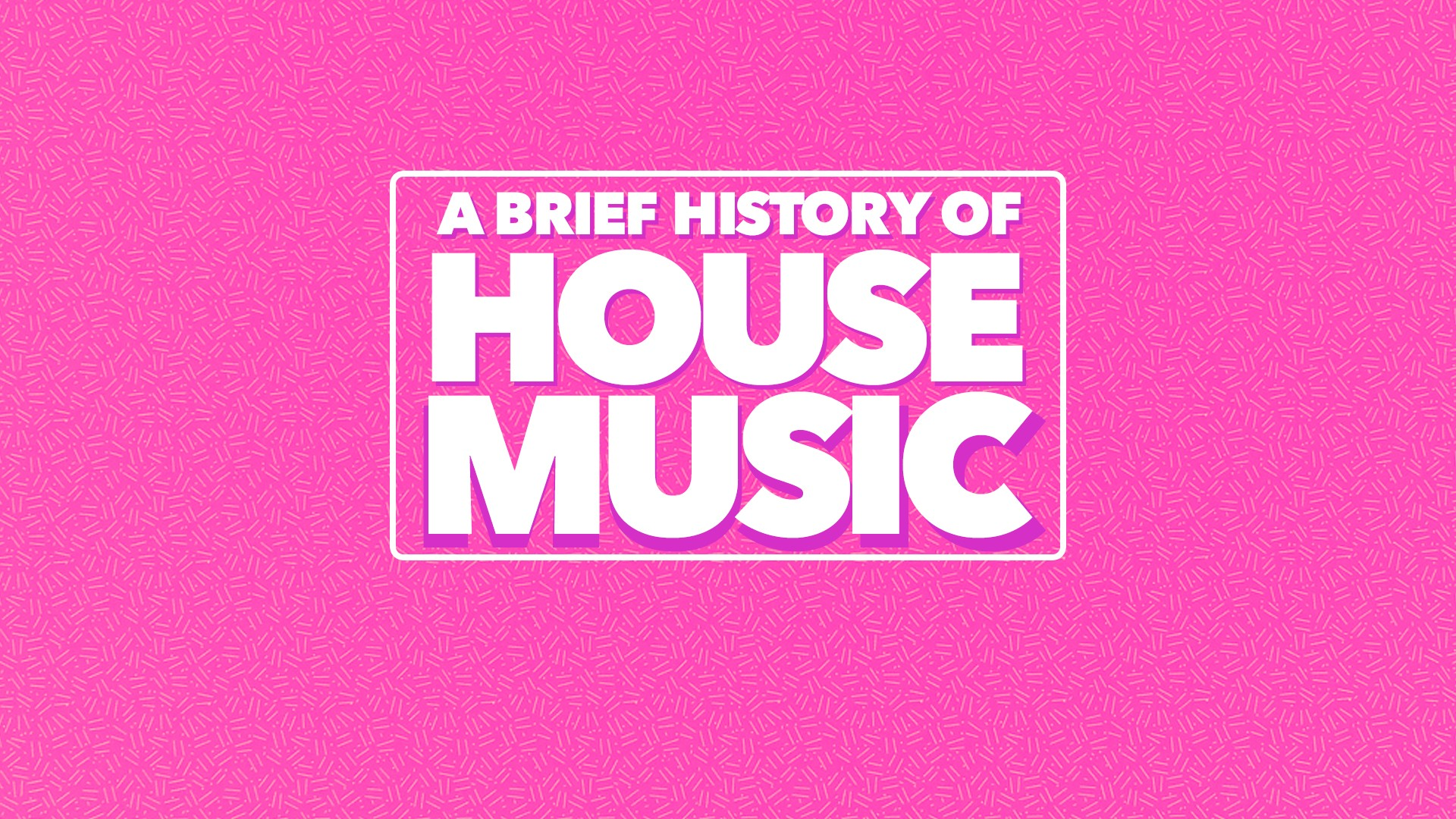 A brief history of house music for House music facts